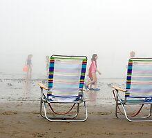 Foggy Beach by Alyeska