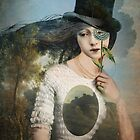Portrait 11 with Hat by Catrin Welz-Stein