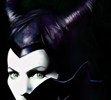 Maleficent by theridingcrop