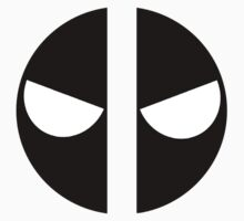 Angry Deadpool Icon No Border Kids Clothes