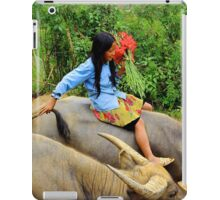 Joyful Children VI - Sa Pa, Vietnam. iPad Case/Skin
