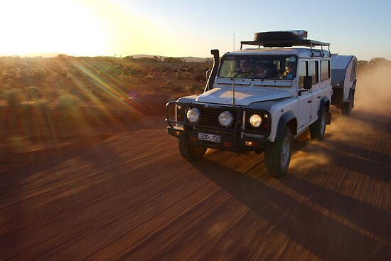 Defender in the Desert by robertp