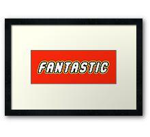 FANTASTIC Framed Print