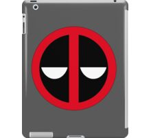 Bored Deadpool Icon  iPad Case/Skin