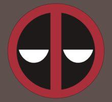 Bored Deadpool Icon  T-Shirt