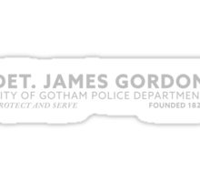 Inspired by Gotham - City of Gotham Police Department, Gordon Sticker