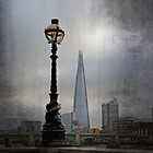 Dolphin Lamposts of London by Lynn Bolt