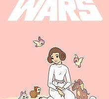 Disney Princess Leia by Steph Hodges