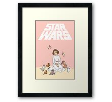 Disney Princess Leia Framed Print
