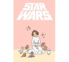 Disney Princess Leia Photographic Print