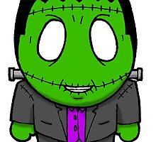Halloweenies Frankenstein by darkartz