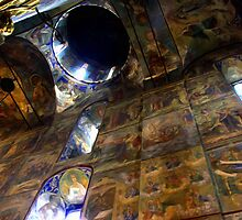 Inside The Assumption Cathedral (1559 - 1585)1 by Jon Ayres