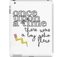 there was a boy iPad Case/Skin