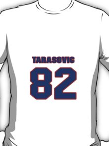 National football player George Tarasovic jersey 82 T-Shirt