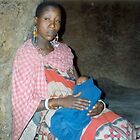 Masai Mother & Baby, Kenya by acespace