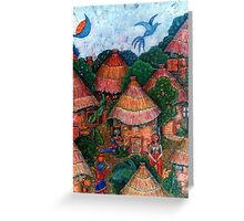That was my country - Mi país que fue Greeting Card
