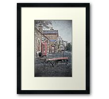 Vintage Hadlow Road in Oils Framed Print