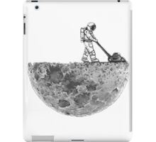 Man And The Moon iPad Case/Skin