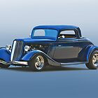 1934 Ford '3 Window' Coupe by DaveKoontz