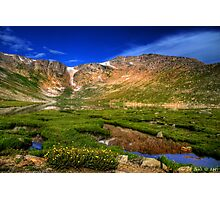 Summit Lake Photographic Print