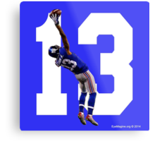 Catch it Like Beckham Metal Print