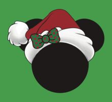 Minnie Mouse in Santa hat by sweetsisters
