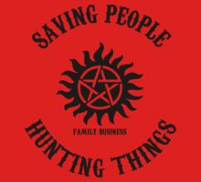 Saving People Hunting Things by qindesign