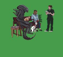 Alien Takes Jonesy to the Vet Kids Clothes