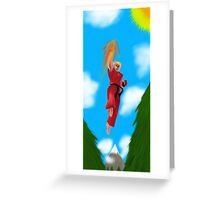 Ken Masters Greeting Card