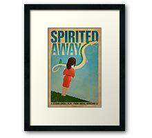Spirited Away Framed Print