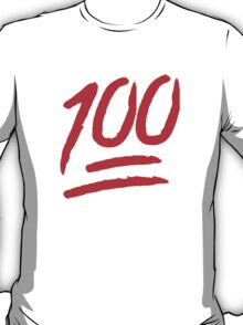 100 [Red] T-Shirt