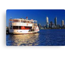Paddle Steamer Decoy - Perth Western Australia  Canvas Print