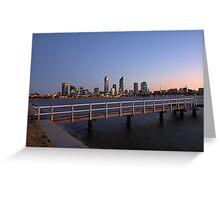 Perth At Dawn Greeting Card