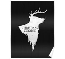 Christmas is Coming - Geeky GOT Christmas Shirt Poster