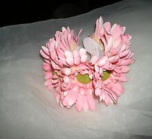 "wedding headpiece name ""Elsa""- crown of flowers   by candace lauer"