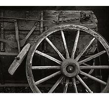 Wagon Wheel Photographic Print