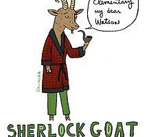 Sherlock Goat -- Elementary My Dear Watson by David Barneda