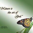 Nature is the Art of God by Sheryl Kasper