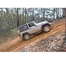 Jeep Wrangler Rubicon Photographic Print