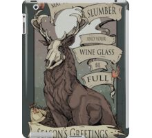 May your demons  iPad Case/Skin