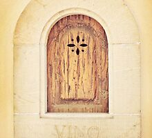 Vino - wine door in Florence, Italy by bluegirldesign