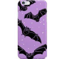 Batty in Violet iPhone Case/Skin