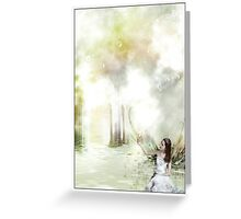 the secret place Greeting Card