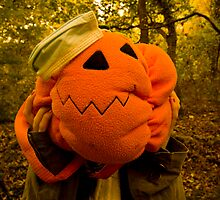 Pumpkin Head by spazzylemon
