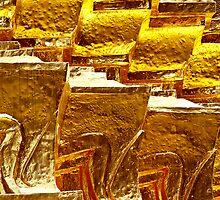 Gilded Wall by Dave Lloyd
