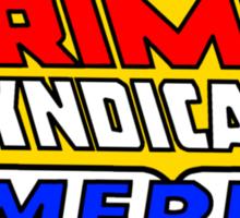 Crime Syndicate of America Sticker