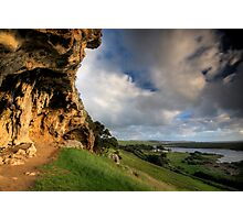 Bridgewater Caves Photographic Print