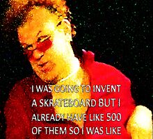 SKRATEBOARD Stan Brule Design by SmashBam by SmashBam