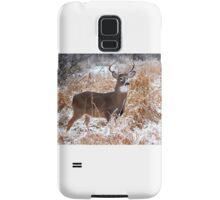 A Regal Stance - White-tailed deer Buck Samsung Galaxy Case/Skin