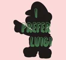 I prefer Luigi bros Kids Clothes